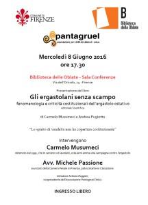 presentazione libro Carmelo Musumeci - Oblate